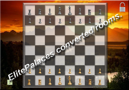 Big chess table for elitepalaces